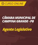 Curso Online Câmara de Campina Grande - PB - Agente Legislativo