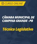 Curso Online Câmara de Campina Grande - PB - Técnico Legislativo