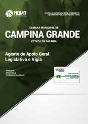 Apostila Câmara de Campina Grande - PB - Agente de Apoio Geral Legislativo e Vigia