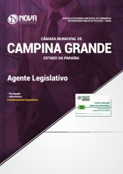 Apostila Câmara de Campina Grande - PB - Agente Legislativo