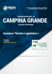 Apostila Câmara de Campina Grande - PB - Assessor Técnico Legislativo I