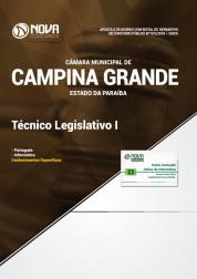 Apostila Câmara de Campina Grande - PB - Técnico Legislativo I