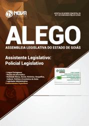 Apostila Assembleia Legislativa  de Goiás (ALEGO) - Assistente Legislativo: Policial Legislativo
