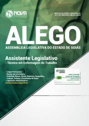 Apostila Assembleia Legislativa  de Goiás (ALEGO) - Assistente Legislativo: Técnico em Enfermagem do Trabalho