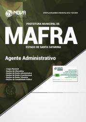 Apostila Prefeitura de Mafra - SC - Agente Administrativo