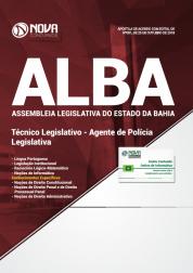 Apostila Assembleia Legislativa da Bahia (ALBA) - Técnico Legislativo - Agente de Polícia Legislativa