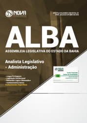 Download Apostila Assembleia Legislativa da Bahia (ALBA) - Analista Legislativo - Administração (PDF)