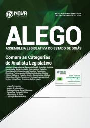 Apostila Assembleia Legislativa de Goiás (ALEGO) - Comum as Categorias de Analista Legislativo