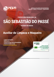 Apostila Prefeitura de São Sebastião do Passé - BA - Auxiliar de Limpeza e Maqueiro