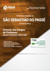 Apostila Prefeitura de São Sebastião do Passé - BA - Comum aos Cargos de Professor