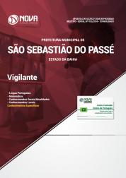Apostila Prefeitura de São Sebastião do Passé - BA - Vigilante