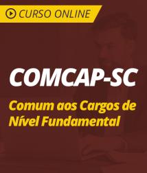 Curso Online COMCAP-SC - Comum aos Cargos de Nível Fundamental