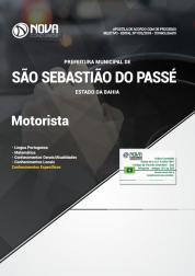 Apostila Prefeitura de São Sebastião do Passé - BA - Motorista