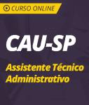Curso Online CAU-SP - Assistente Técnico Administrativo