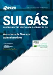 Download Apostila SULGÁS-RS - Assistente de Serviços Administrativos (PDF)