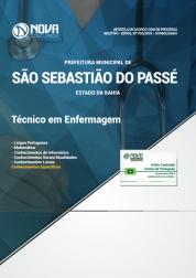 Download Apostila Prefeitura de São Sebastião do Passé - BA - Técnico em Enfermagem (PDF)