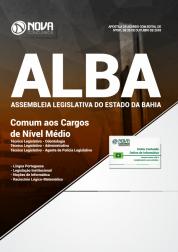 Download Apostila Assembleia Legislativa da Bahia (ALBA) - Comum aos Cargos de Nível Médio (PDF)
