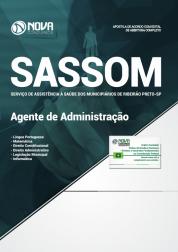 Apostila Sassom de Ribeirão Preto - SP - Agente de Administração