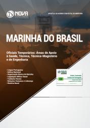 Apostila Marinha do Brasil - Oficiais Temporários: Áreas de Apoio à Saúde, Técnica, Técnica-Magistério e de Engenharia