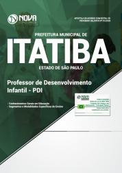 Apostila Prefeitura de Itatiba - SP - Professor de Desenvolvimento Infantil (PDI)
