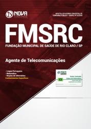 Apostila Fundação de Saúde de Rio Claro - SP (FMSRC) - Agente de Telecomunicações