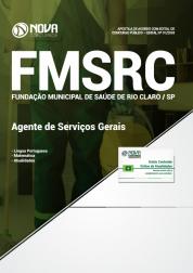 Apostila Fundação de Saúde de Rio Claro - SP (FMSRC) - Agente de Serviços Gerais