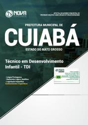 Apostila Prefeitura de Cuiabá - MT - Técnico em Desenvolvimento Infantil (TDI)