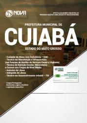 Download Apostila Prefeitura de Cuiabá - MT - Comum aos Cargos de Nível Médio (PDF)