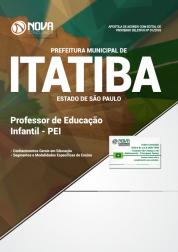 Apostila Prefeitura de Itatiba - SP - Professor de Educação Infantil (PEI)
