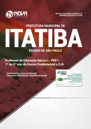 Apostila Prefeitura de Itatiba - SP - PEB I, 1º ao 5º ano do Ensino Fundamental e EJA