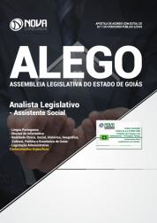 Apostila Assembleia Legislativa de Goiás (ALEGO) - Analista Legislativo - Assistente Social