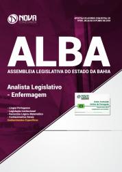Download Apostila Assembleia Legislativa da Bahia (ALBA) - Analista Legislativo - Enfermagem (PDF)