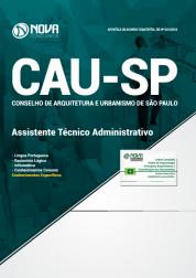 Apostila CAU-SP - Assistente Técnico Administrativo