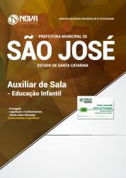 Apostila Prefeitura de São José - SC - Auxiliar de Sala - Educação Infantil