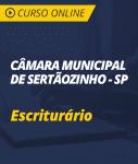 Curso Online Câmara de Sertãozinho - SP - Escriturário