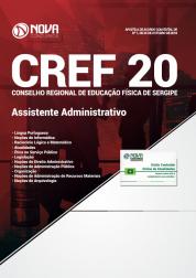 Apostila CREF 20ª Região - SE - Assistente Administrativo