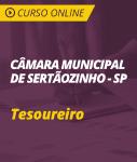 Curso Online Câmara de Sertãozinho - SP - Tesoureiro
