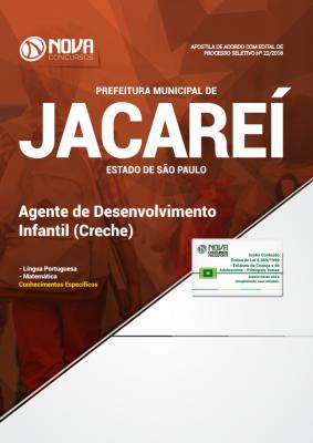 Apostila Prefeitura de Jacareí - SP - Agente de Desenvolvimento Infantil (Creche)
