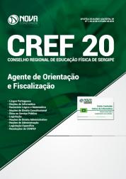 Download Apostila CREF 20ª Região - SE 2018 - Agente de Orientação e Fiscalização