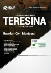 Apostila Prefeitura de Teresina - PI 2018 - Guarda Civil Municipal