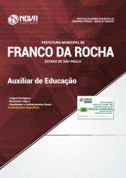 Apostila Download Prefeitura de Franco da Rocha - SP 2018 - Auxiliar de Educação