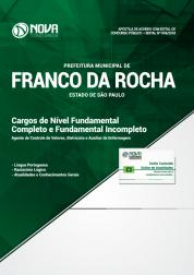 Apostila Prefeitura de Franco da Rocha - SP 2018 - Cargos de Nível Fundamental Completo e Incompleto