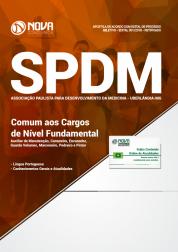 Apostila SPDM-MG 2018 - Comum aos Cargos de Nível Fundamental