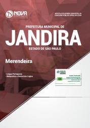 Apostila Prefeitura de Jandira - SP 2018 - Merendeira