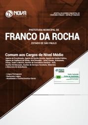 Apostila Download Prefeitura de Franco da Rocha - SP 2018 - Comum aos Cargos de Nível Médio