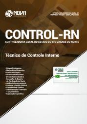 Apostila CONTROL-RN 2018 - Técnico de Controle Interno