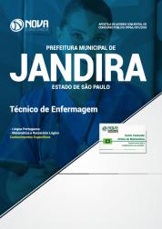 Apostila Prefeitura de Jandira - SP 2018 - Técnico de Enfermagem