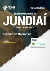 Apostila Prefeitura de Jundiaí - SP 2018 - Técnico em Necropsia