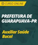 Curso Online Prefeitura de Guarapuava - PR 2018 - Auxiliar Saúde Bucal
