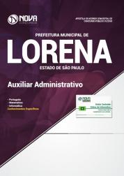 Apostila Prefeitura de Lorena - SP 2018 - Auxiliar Administrativo